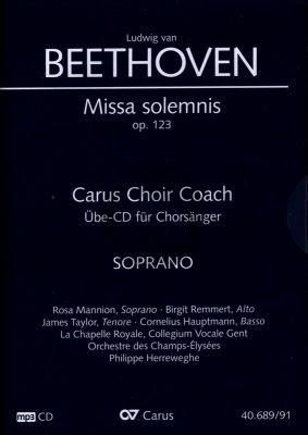 Beethoven Missa Solemnis D-dur Op.123 Sopran Chorstimme CD (Carus Choir Coach)