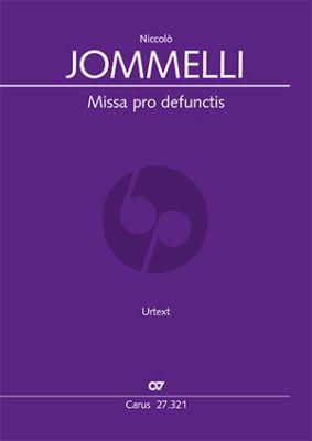 Jommelli Missa pro defunctis (Requiem) SATB soli-SATB-2 Vi.-2 Va.-Bc (Partitur) (Julia Rosemeyer)