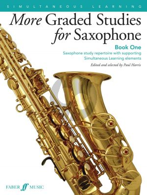 More Graded Studies Book 1 for Saxophone