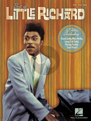 Best of Little Richard Piano-Vocal-Guitar
