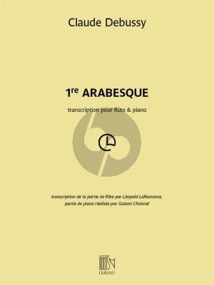 Debussy Arabesque No.1 Flute et Piano (transcr. Leopold Lafleurance)
