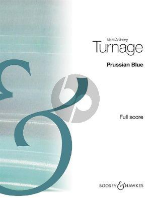 Turnage Prussian Blue Piano, Violin, Viola, Cello & Double Bass (Score)