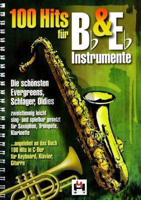 Album 100 Hits für Bes- und Es-Instrumente (Herausgegeben von Gerhard Hildner)