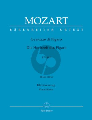 Mozart Le Nozze di Figaro KV 492 Vocal Score (germ./ital.) (edited by Ludwig Finscher) (Hardcover)