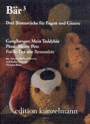 Bär hoch 3 - Drei Bärenstücke für Fagott und Gitarre (Annina Holland-Moritz und Stefan Conradi)