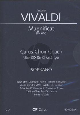 Magnificat RV 610 Sopran Chorstimme CD