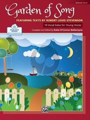 Garden of Song - 10 Vocal Solos for Young Voices for medium voice (Book with Audio online) (compiled and edited by Katie O'Connor-Ballantyne)