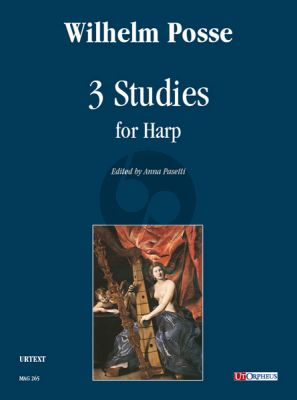 Posse 3 Studies for Harp (edited by Anna Pasetti)