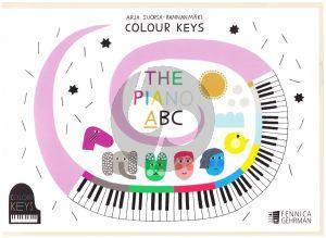 Suorsa- Rannanmaki Colour Keys The Piano ABC Book A (Lessonbook) (Finnish/English)