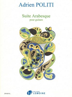 Politi Suite Arabesque for Guitar Solo