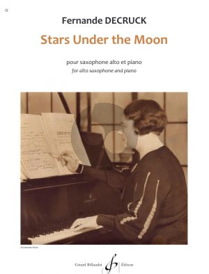 Decruck Stars Under the Moon for Alto Saxophone and Piano