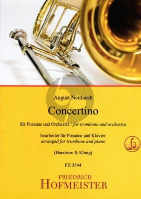 Neithardt Concertino for Trombone and Piano