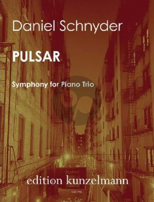 Schnyder Pulsar Symphony for Piano Trio (Score/Parts)