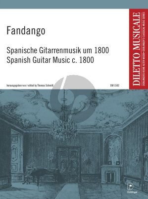 Fandango - Spanische Gitarrenmusik um 1800 (Thomas Schmitt)