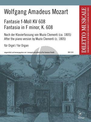 Fantasie f-Moll KV 608 Orgel
