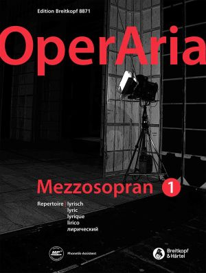 OperAria Mezzo Soprano Vol.1 Lyric Repertoire (edited by Peter Anton Ling and Marina Sandel) (germ./engl.)