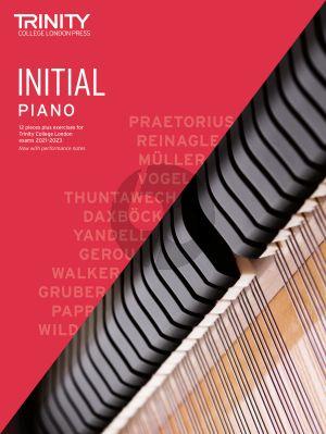 Piano Exam Pieces Plus Exercises 2021-2023: Initial