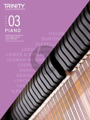 Piano Exam Pieces Plus Exercises 2021-2023: Grade 3