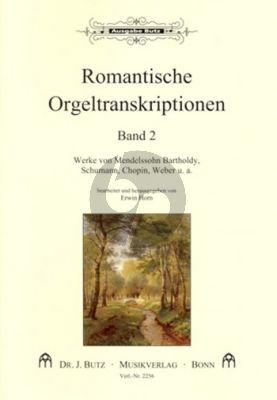 Romantische Orgeltranskriptionen Band 2 (Erwin Horn)
