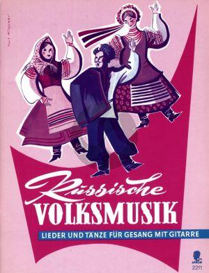 Russische Volksmusik Singstimme und Gitarre