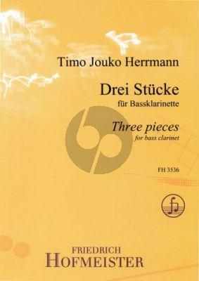 Bach 3 Stucke / 3 Pieces Bassklarinette Solo / Bass Clarinet Solo