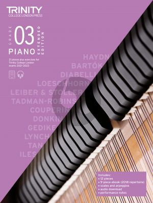 Piano Exam Pieces Plus Exercises 2021-2023: Grade 3 - Extended Edition (Book with Audio online)