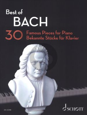Best of Bach for Piano (30 Famous Pieces) (Original Piano Pieces and Arrangements by Hans-Gunther Heumann)