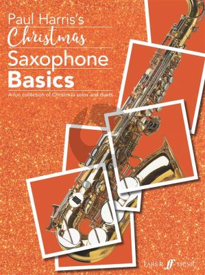 Harris Christmas Saxophone Basics for Alto Saxophone