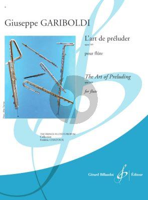 Gariboldi L' art de preluder du flutiste Op.149 Flute