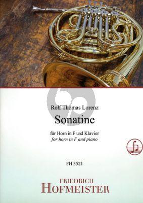 Lorenz Sonatine Horn und Klavier