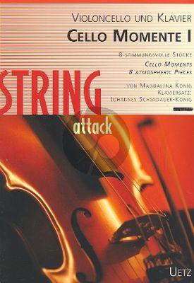 Konig Cello-Momente Band 1 Violoncello und Klavier (Buch mit CD)