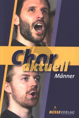 Chor aktuell Männer (zum Teil mit Instrumenten) (Oskar Egle, Stefan Kalmer und Hans-Joachim Lustig)