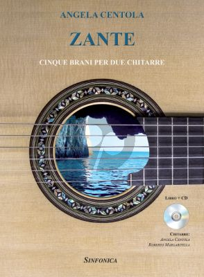 Centola Zante for 2 Guitars (5 Pieces) (Bk-Cd)