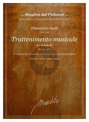 Galli Trattenimento musicale Violoncello solo (12 Sonatas (Parma 1691) (edited by Gioele Gusberti)