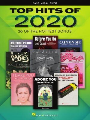 Top Hits of 2020 Piano-Vocal-Guitar (20 of the Hottest Songs)