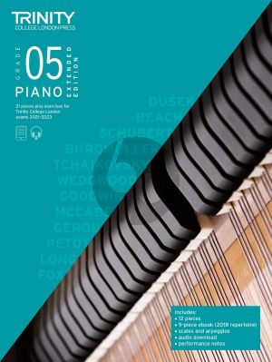 Piano Exam Pieces Plus Exercises 2021-2023: Grade 5 - Extended Edition (Book with Audio online)
