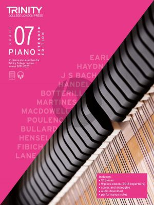 Piano Exam Pieces Plus Exercises 2021-2023: Grade 7 - Extended Edition