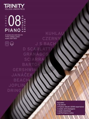 Piano Exam Pieces Plus Exercises 2021-2023: Grade 8 - Extended Edition (Book with Audio online)