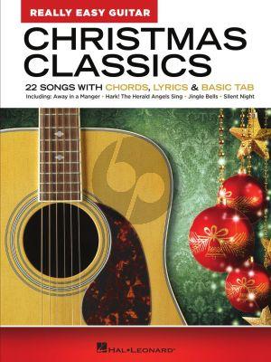 Christmas Classics – Really Easy Guitar Series (22 Songs with Chords, Lyrics & Basic Tab)