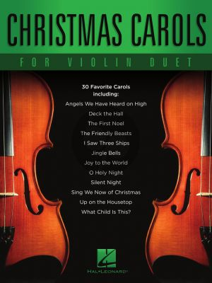 Christmas Carols for Violin Duet