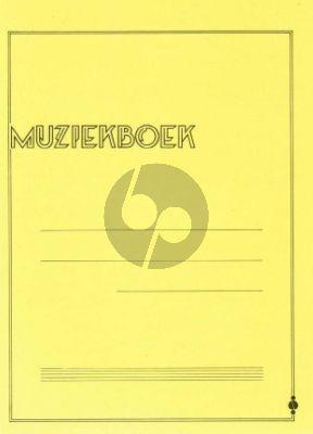 Muziekboek geel 12 Balks