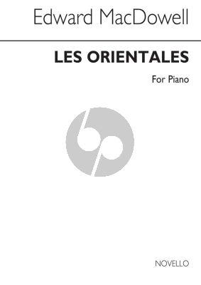 MacDowell Les Orientales Op.37 Piano Solo