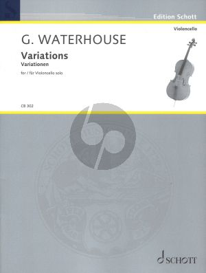 Waterhouse Variations for violoncello solo