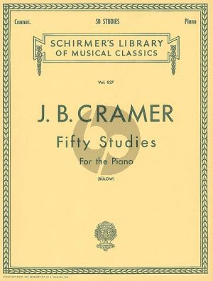 Cramer 50 Selected Studies Piano (von Bulow) (Advanced Level)