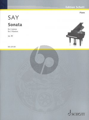 Say Sonata Op.80 for 2 Pianos