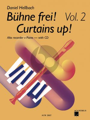Hellbach Curtains UP! Vol.2 for Treble Recorder and Piano Bk-CD
