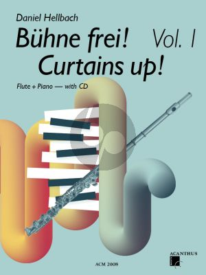 Hellbach Curtains UP! Vol.1 for Flute and Piano Bk-CD