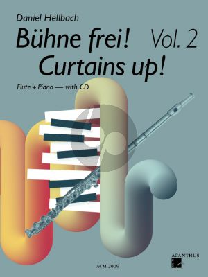 Hellbach Curtains UP! Vol.2 for Flute and Piano Bk-CD