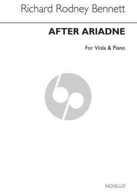 Bennett After Ariadne Viola and Piano