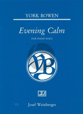 Bowen Evening Calm Piano solo